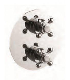 Thermostatique à encastrer avec coupure d'eau 1 à 3 voies CLASSIQUE pas cher & discount