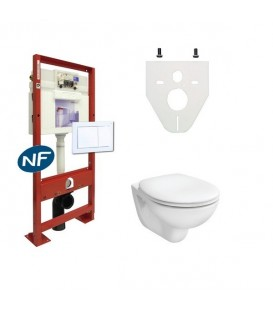 Toilettes alterna duravit geberit jacob delafon for Toilette suspendu jacob delafon