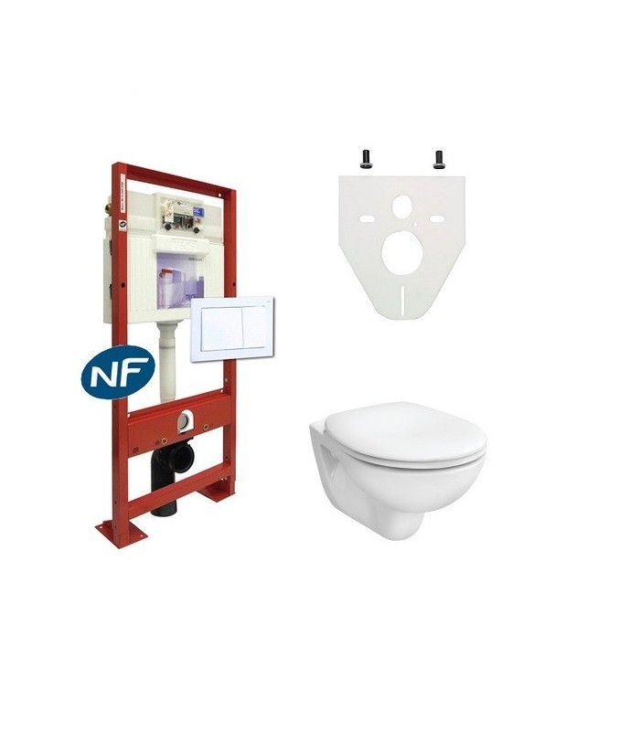 Pack wc suspendu complet banyo - Pack toilette suspendu ...