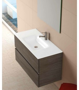 Meubles de salle de bain suspendus aquarine collin arredo - Meuble de rangement salle de bain pas cher ...