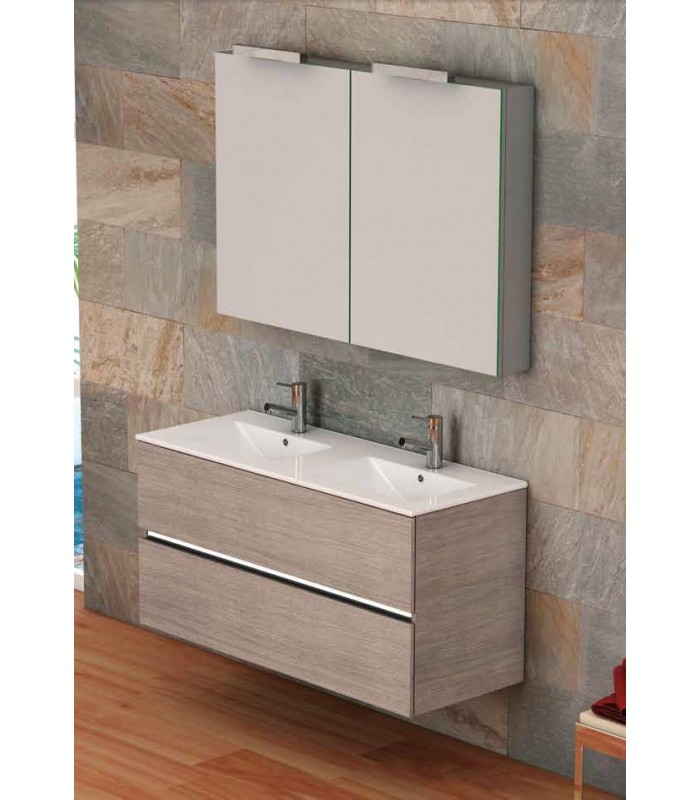 meuble suspendu salle de bain ikaro 120 banyo. Black Bedroom Furniture Sets. Home Design Ideas