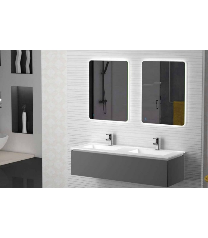 meuble suspendu salle de bain sigma 140 banyo. Black Bedroom Furniture Sets. Home Design Ideas