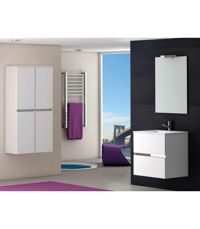 meuble suspendu salle de bain ikaro 60 banyo. Black Bedroom Furniture Sets. Home Design Ideas