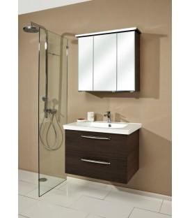 Meuble salle de bain suspendu bebop pose d cal e banyo for Pose meuble salle de bain