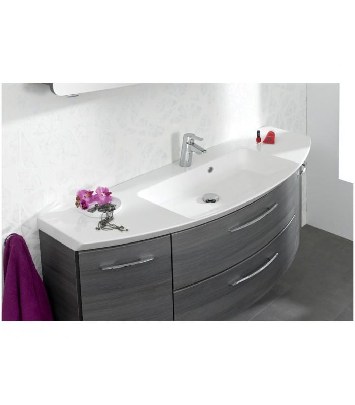 Meuble suspendu salle de bain cassca 121 banyo for Fixation meuble salle de bain suspendu