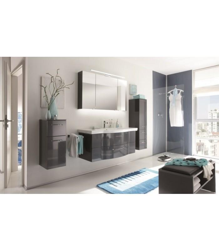 Meuble suspendu salle de bain argona 122 banyo for Meubles salle de bain suspendu