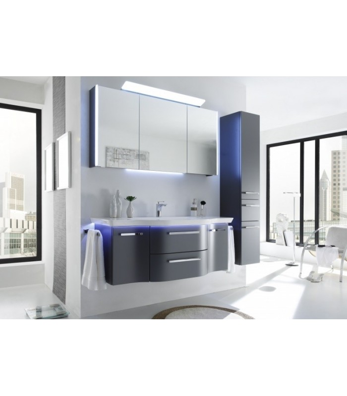 meuble suspendu salle de bain contea 134 banyo. Black Bedroom Furniture Sets. Home Design Ideas