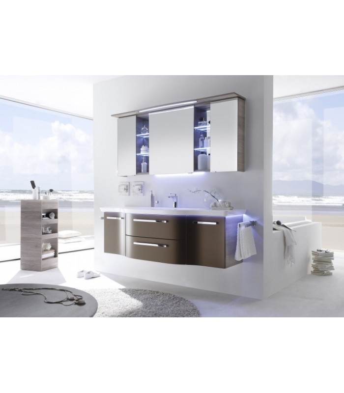 meuble suspendu salle de bain contea 164 banyo. Black Bedroom Furniture Sets. Home Design Ideas