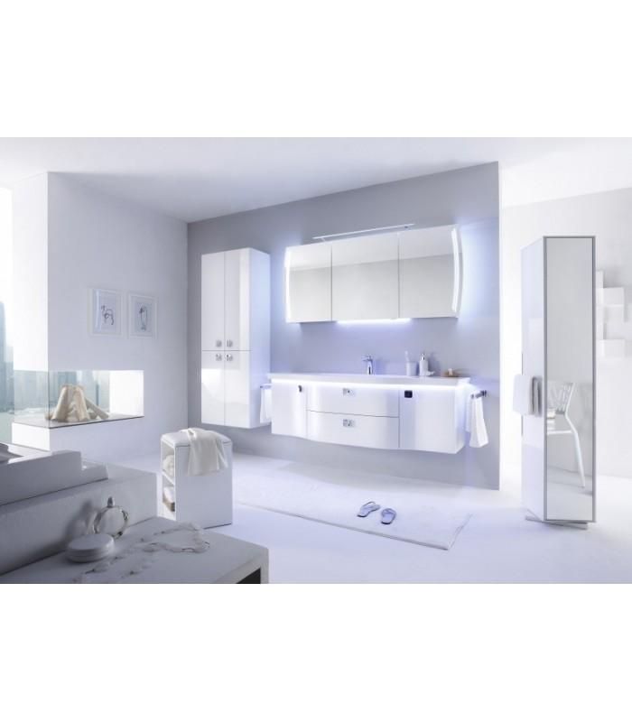 Meuble suspendu salle de bain contea 164 banyo for Meuble salle de bain suspendu