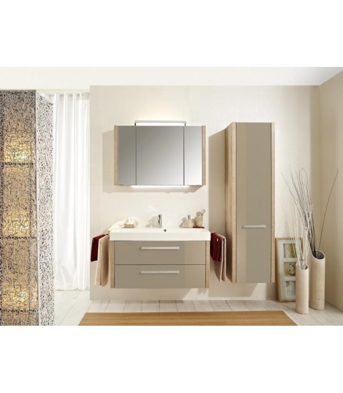 Meuble suspendu salle de bain lardo 100 banyo - Meubles salle de bain suspendu ...