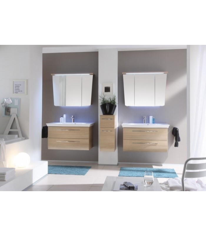 meuble suspendu salle de bain vialo 95 banyo. Black Bedroom Furniture Sets. Home Design Ideas