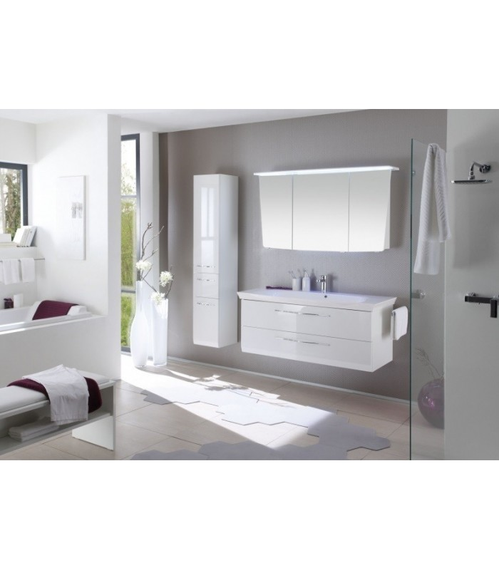 meuble suspendu salle de bain vialo 126 banyo. Black Bedroom Furniture Sets. Home Design Ideas