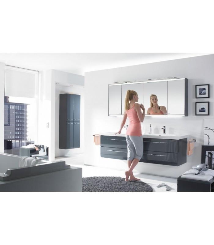 Meuble suspendu salle de bain vialo double vasque 184 banyo - Meuble suspendu salle de bain ...