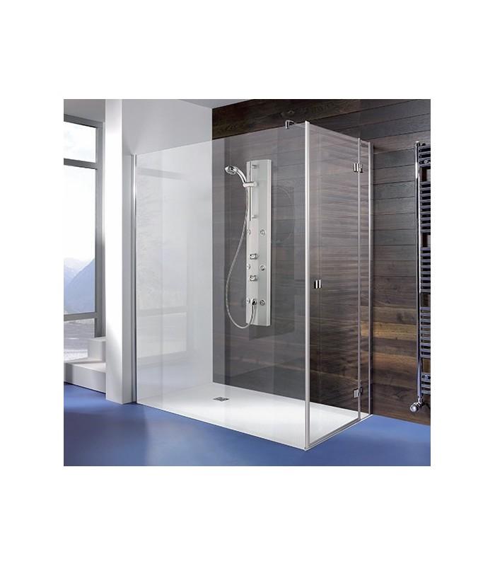 Espira paroi fixe avec porte pivotante banyo for Porte de douche fixe