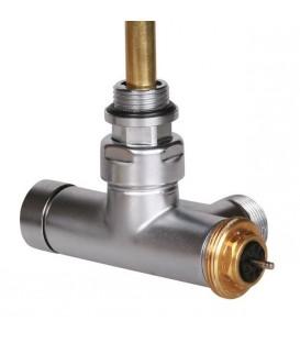 Vanne thermostatique équerre avec tube d'immersion pas cher & discount