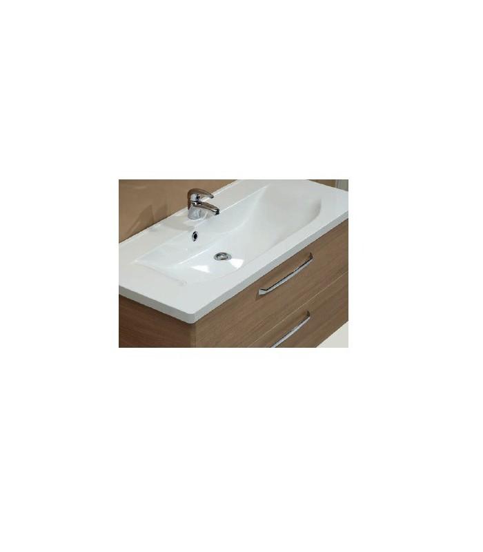 Meuble suspendu salle de bain trentino 110 banyo - Meuble salle de bain 110 cm ...
