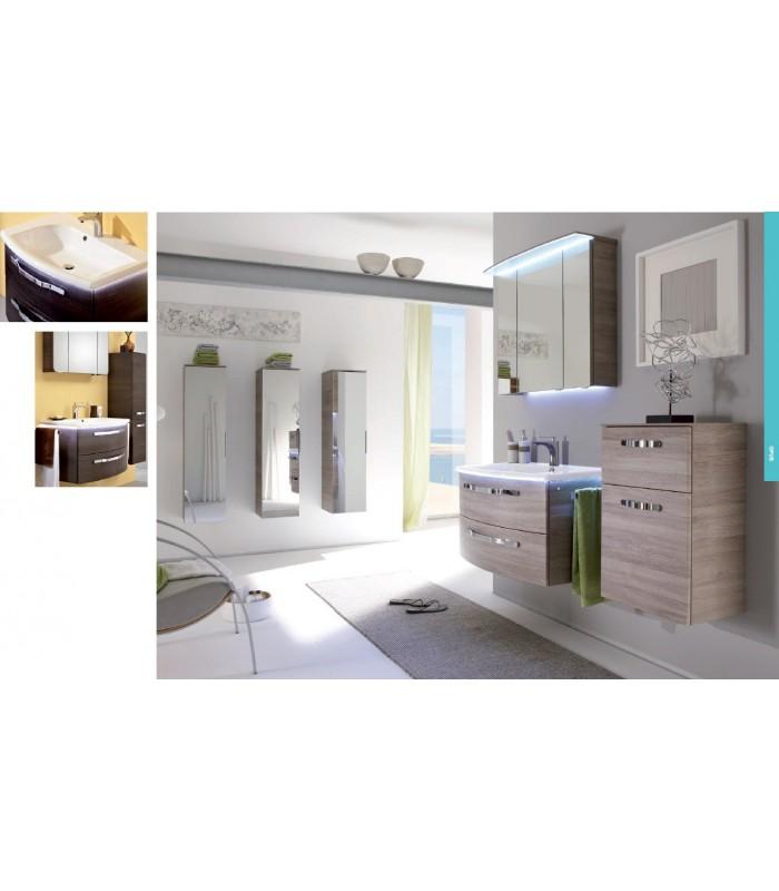 Meuble suspendu salle de bain opus 84 5 banyo - Meubles salle de bain suspendu ...
