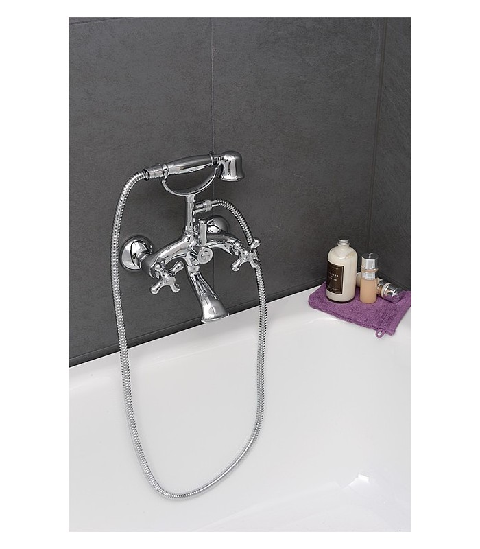 kit m langeur de bain douche retro banyo. Black Bedroom Furniture Sets. Home Design Ideas