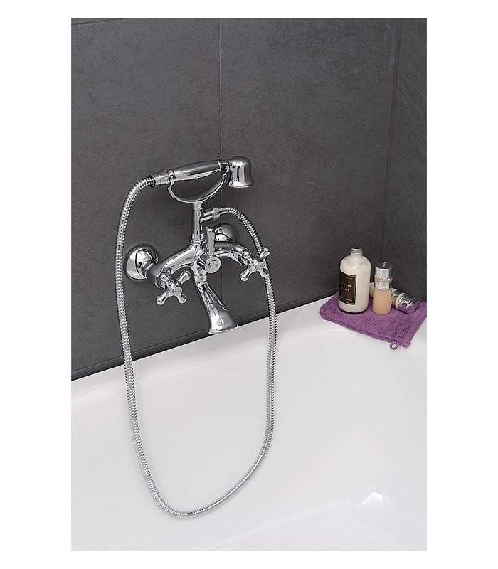 kit m langeur de bain douche retro banyo. Black Bedroom Furniture Sets. Home Design Ideas