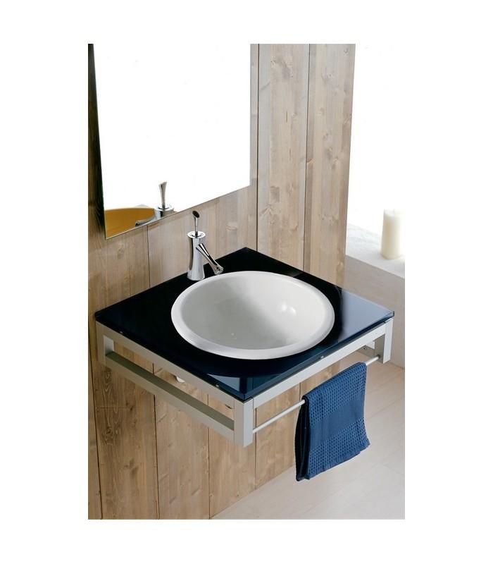 vasque in out encastrer banyo. Black Bedroom Furniture Sets. Home Design Ideas