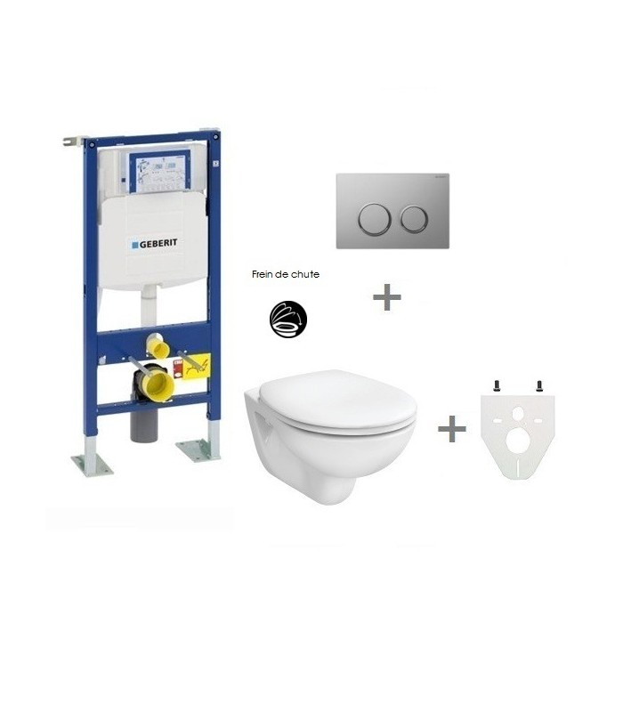 Pack wc suspendu geberit autoportant banyo - Pack toilette suspendu ...