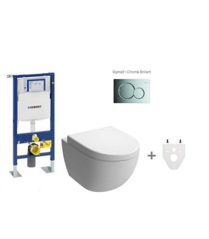 pack wc suspendu geberit daily 39 o 2 banyo. Black Bedroom Furniture Sets. Home Design Ideas