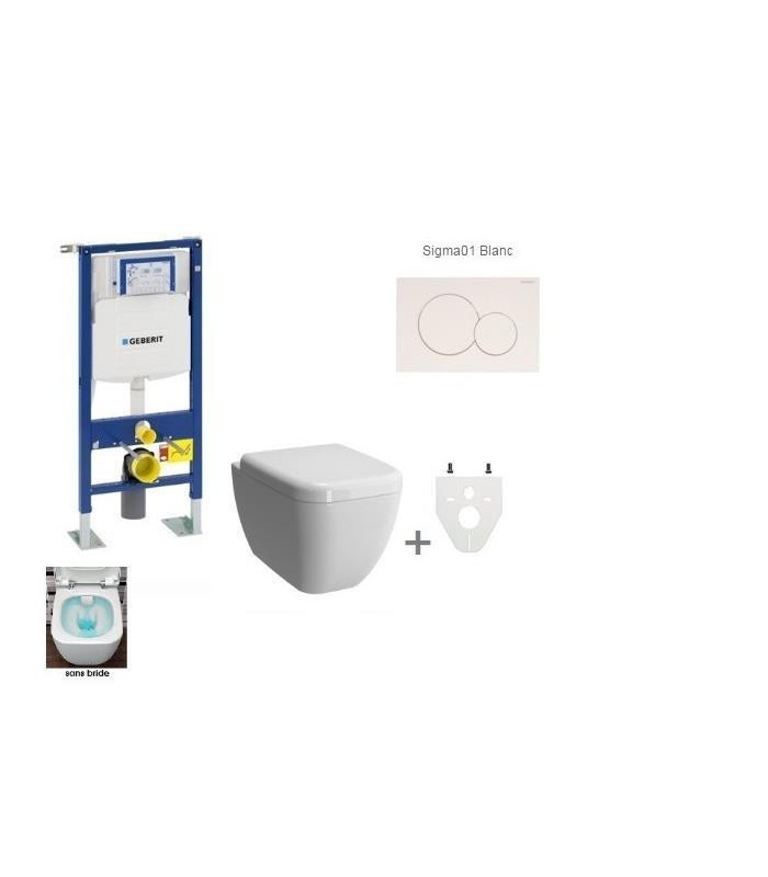 Pack wc suspendu geberit daily 39 c banyo - Meilleur wc suspendu ...
