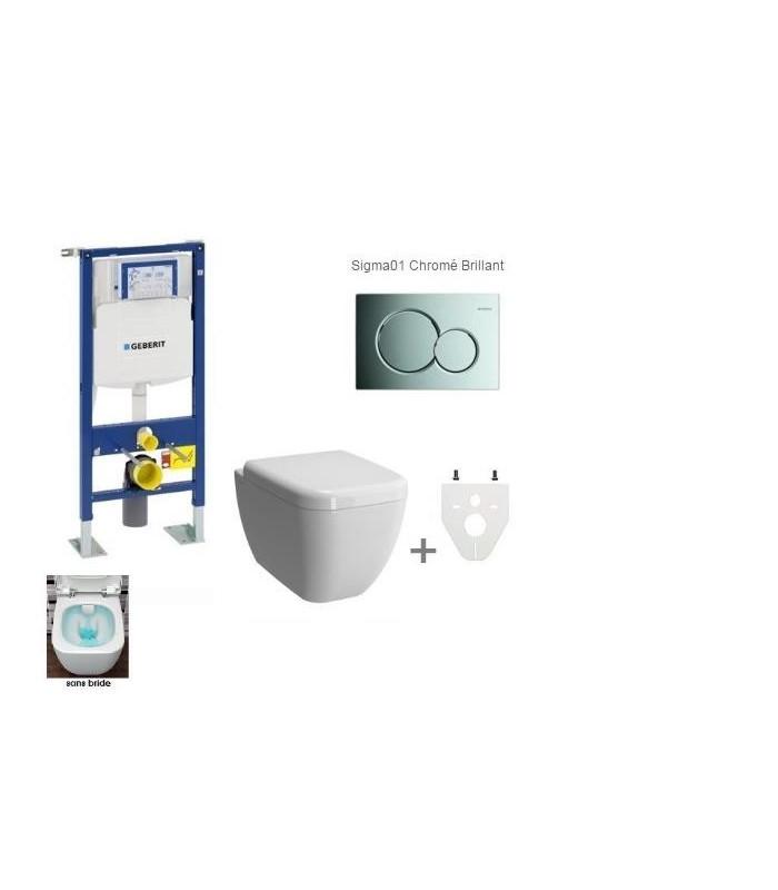 pack wc suspendu geberit daily 39 c banyo. Black Bedroom Furniture Sets. Home Design Ideas