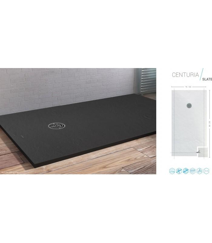 centuria slate banyo. Black Bedroom Furniture Sets. Home Design Ideas