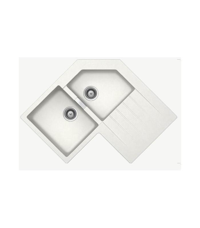 evier d 39 angle cristalite primus banyo. Black Bedroom Furniture Sets. Home Design Ideas