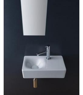 Vasque à poser ou suspendue cube pas cher & discount