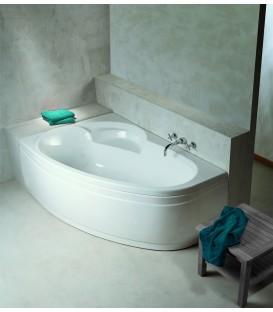 Baignoires d 39 angle alterna aquarine et ravak banyo for Petit baignoire pas cher