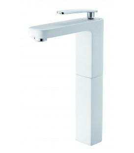 Mitigeur lavabo blanc réhaussé pas cher & discount