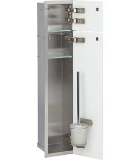 niche à encastrer en inox pour WC 150 x 950 mm pas cher & discount