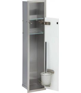 Niche à encastrer en inox pour WC pas cher & discount