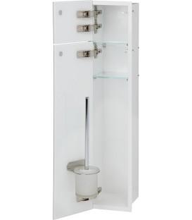 Niche pour WC à encastrer intérieur blanc pas cher & discount