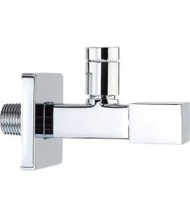 Robinet équerre sous lavabo design Linea Quadro pas cher & discount