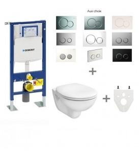 Pack WC suspendu Geberit autoportant pas cher & discount