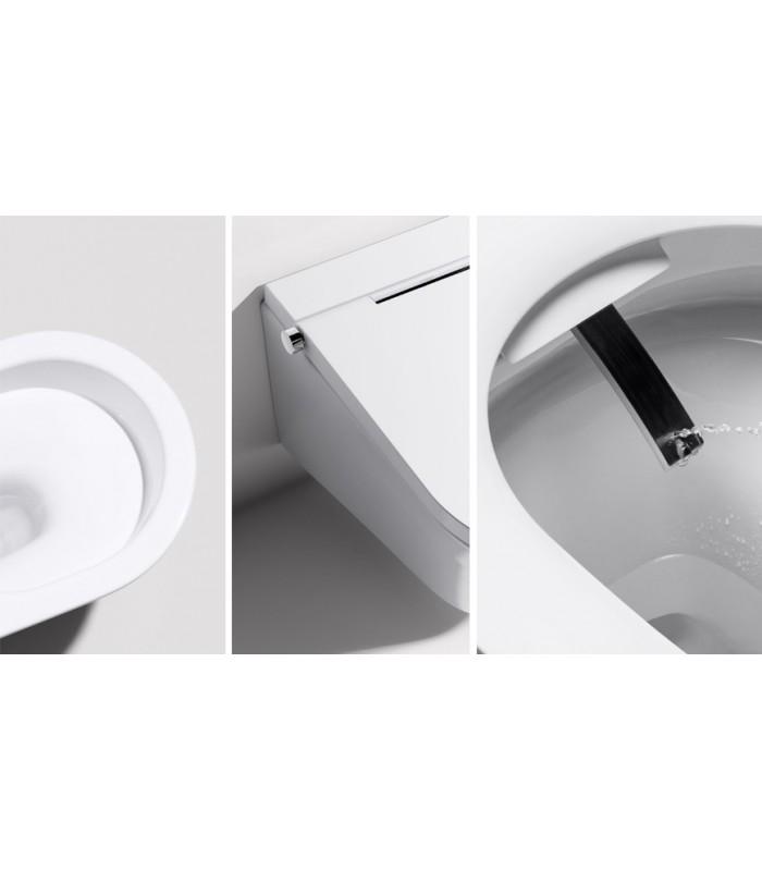 pack toilette suspendu japonais axent one plus banyo. Black Bedroom Furniture Sets. Home Design Ideas